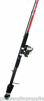 Shakespeare 10 Ft / 3m  Rod & Reel Combo Pier /  Rock Mackeral Sea Fishing • 46.76£