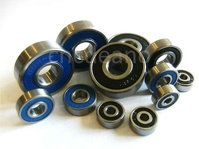 √ MR SERIES 2rs QUALITY DOUBLE SEALED MINIATURE BEARINGS ALL SIZES AVAILABLE √ • 9.45£