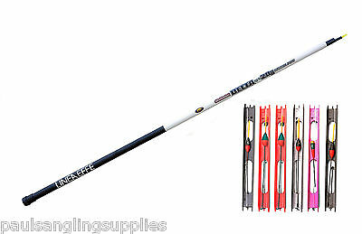 5 Meter Pre Elasticated Carp Fishing Telepole Whip + 5 Carp Pole Rigs • 23.69£