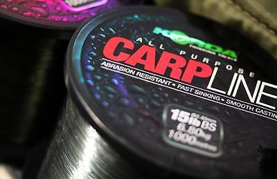 Korda Carpline / Carp Line - All The Breaking Strengths • 12.99£