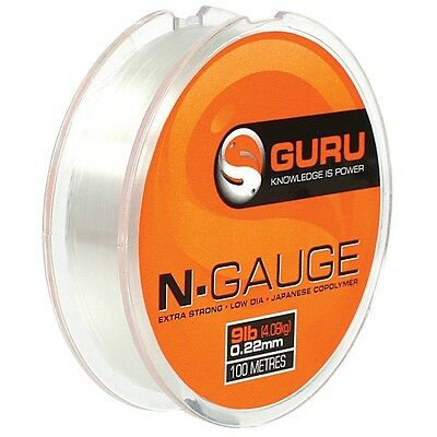 Guru N-gauge / N Gauge Hooklink Mono Line - All The Sizes • 4.95£