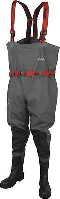 Imax Nautic  Pro Chest Waders Cleated + Studs Sea Fishing All Sizes Rrp £90 • 54.95£