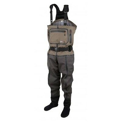 SCIERRA X-Tech CC6 Breathable Stockingfoot  Chest Waders  RRP £300 • 179.95£