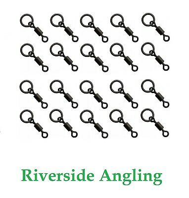 Micro Hook Ring Swivel Size 22 X20 Black Ring Carp Fishing Ronnie Rigs • 3.89£