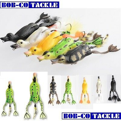 Savage Gear 3D Fruck Hollow Duckling Weedless Surface Pike Lure • 12.99£