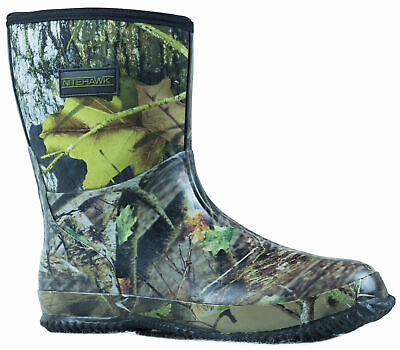 Nitehawk Camouflage Neoprene Fishing/Hunting Half Height Wellington Boots • 19.99£