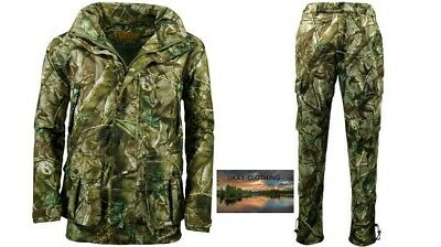 Mens Waterproof Stealth Jacket Trousers Hunting Fishing Walking • 69.95£
