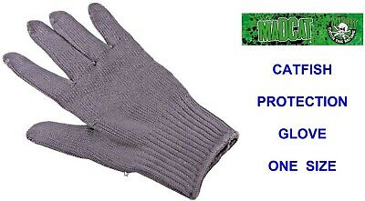 Dam Mad Cat Catfish Hand Protection Glove For Coarse Fishing Line Braid Rigs • 13.90£