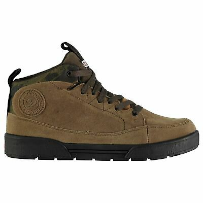 Diem Mens Waterproof Shoes Fishing Boots Lace Up Breathable Suede • 29.99£