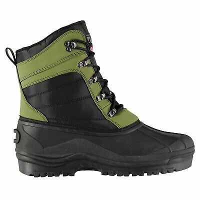 Diem Mens Lite Tech Boots Fishing Lace Up Waterproof Pattern • 24.99£