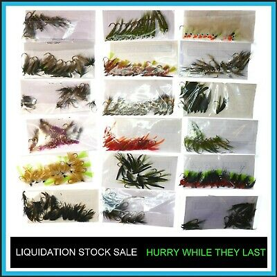 Trout Flies Fly Fishing  ✅ LIQUIDATION Fly STOCK SALE ✅ X12 Fly Fishing Fly(s) ✅ • 3.19£