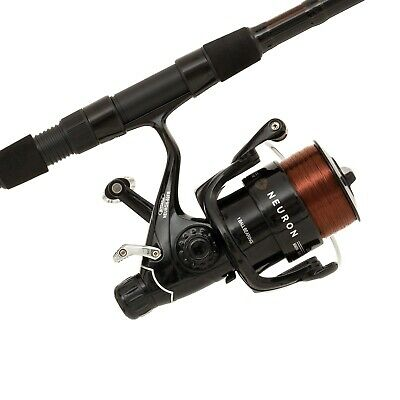 Mitchell Neuron Carp Fishing Rod +Baitrunning  Reel  With Line Fitted 1513802 • 62.83£