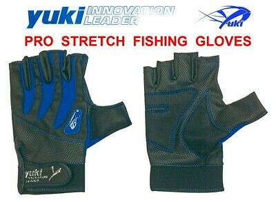 Yuki Pro Stretch Fishing Gloves For Boat Surf Sea Spinning Beachcaster Casting • 26.99£