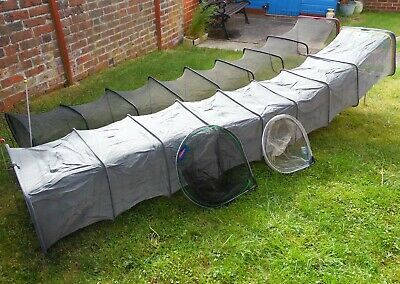 Landing Nets And Keepnet Set, Silverfish & Commercial Carp, Middy,Dinsmores..VGC • 14.87£