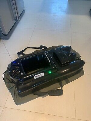Viper Icon Mk 3 Bait Boat With Charger, Controller, Bag And 8 Batteries. • 185£