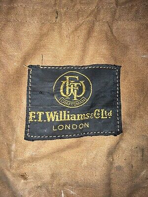 F.T Williams Two Piece Bamboo Fishing Rod Vintage. Immaculate Condition With Bag • 20£