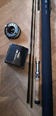 Title Greys 15ft Salmon Fly Fishing Rod + Reel #10 #11 Weight • 200£