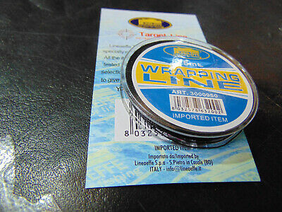 Black Rod Whipping Thread 25m (Lineaffe) For Rod Building • 3.15£