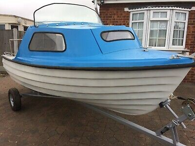 Bonwitco 400 Unsinkable Fishing Boat With 20hp Mariner Outboard And New Trailer! • 2,995£
