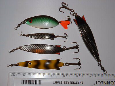 A Nice Group Of Abu Garcia Made Assorted Fishing Lures, 7g To 30g • 14.99£