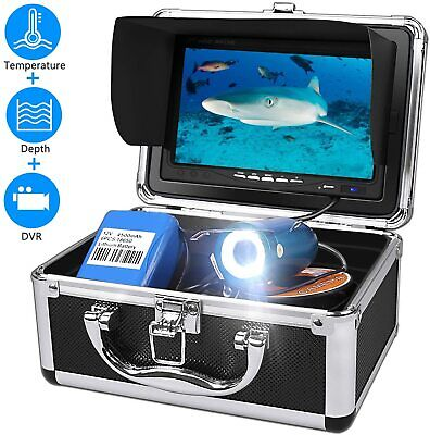 Underwater Fishing Camera, Fish Finder System 7  LCD Depth And Temperature NEW • 199.99£
