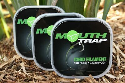 Korda Mouth Trap Chod Filament *New* - Free Delivery • 6.75£