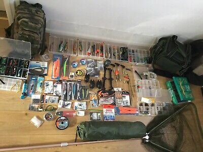 Fishing Gear Tackle New And Used Stuff Job Lot Bargains  • 155£