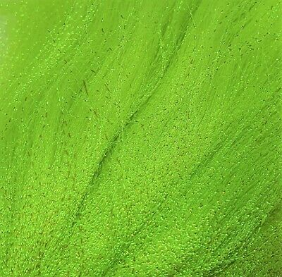 * Chartreuse * Krystal Flash 150+ Strands From Flynscotsman Tackle Crystal • 1.75£