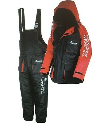 New Imax Thermo Suit 2 Pc Sea Fishing 100% Waterproof / Beach / Boat/pier Fishin • 87.95£