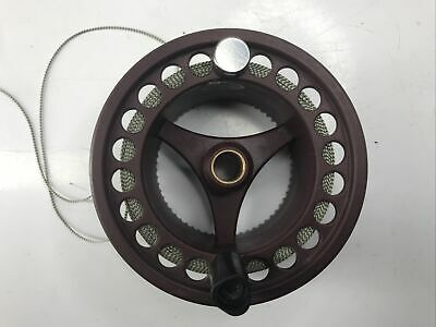Danica Wide Arbour Fly Fishing Reel Spare Spool With Backing Line. • 5£