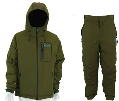 Aqua F12 Thermal Jacket And Trousers Carp Fishing NEW 2020 • 129.75£