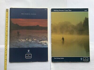 Vintage Hardy Fishing Catalogues For 1992 & 1994 - Rods,reels,nets & Accessories • 19.95£