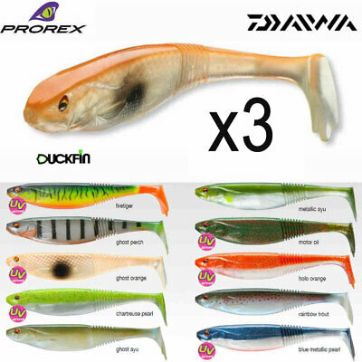 Prorex Classic Shad 25cm Soft Lures X 3 ALL SIZES • 4.99£
