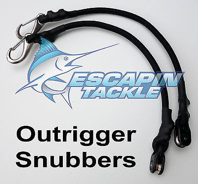 Outrigger Snubbers / Shockcords. Set Of 2 For Outriggers, Australian Made • 19.74£