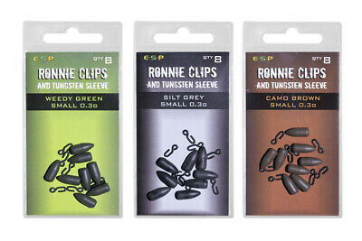 ESP Ronnie Clips And Tungsten Sleeve *New* - Free Delivery • 5.25£
