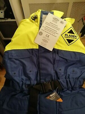 New - Still In Bag With Tags - Fladen Fishing Immersion Suit, 1 Piece: Large  • 85£