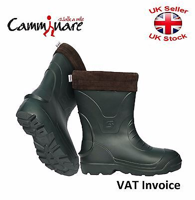 Camminare Thermal LIGHTWEIGHT EVA MATERIAL Wellies Wellingtons Boots-30C Voyager • 25.47£