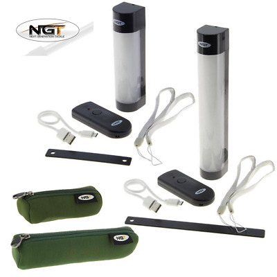 NGT Carp Fishing Magnetic Bivvy Light Power Bank Function Phone Tablet + Case • 27.90£