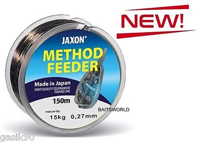 Method Feeder Jaxon Tournament Fishing Line Monofilament Bulk 150m 0.16-0.30mm • 3.59£
