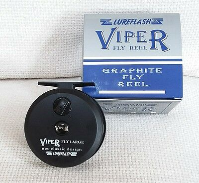 **New** Lureflash Viper Fly Large, Graphite Fly Reel, Medium 6/7Line ONLY £9.99  • 9.99£