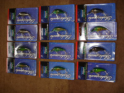 12 Brand New Shakespeare Rattling Little S Lures Assorted Colours  • 16.99£