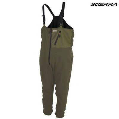 Scierra Thermo One Piece Mid Layer Fly Fishing Thermo Body Suit   Olive Green • 49.95£
