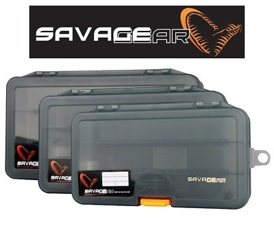 Savage Gear Lure Boxes Lures Jigs Predator Fishing Tackle Bass Perch Pike Cod Lr • 7.39£