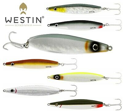 Westin Lures Fishing SALTY 26g Bass Sea Trout Seeker Spoon Seatrout Bait Pike  • 7.99£