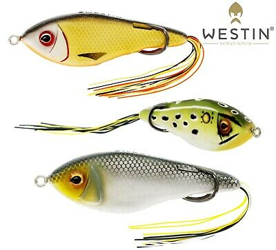 Westin Fishing Lures SWIM HOLLOW BODY 9cm 17g Floating Topwater Surface Lure  • 10.99£