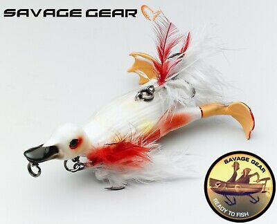SAVAGE GEAR 3D SUICIDE DUCK 10,5cm 28g All Colours Crazy Lure Fishing Topwater  • 14.99£