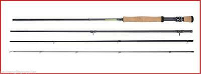 Shakespeare Sigma Carbon Fibre Travel Fly Fishing Rod 4 Pc 7ft 8ft 9ft 10ft • 34.99£