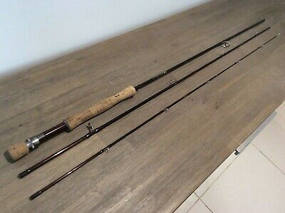 Sharpes Of Aberdeen 'The Gordon' Fly Fishing Rod 9ft 6  #7 Weight 3 Piece Superb • 41£