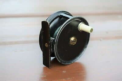 J.S. Sharpe Of Aberdeen Small Fly Fishing Reel 2.5 Inches - Very Rare • 69.99£