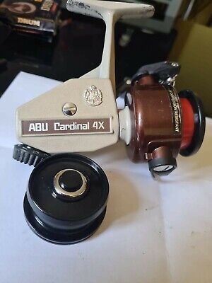 Abu Cardinal 4x Rare (791100) In A Lovely Used Condition+spare Spool • 105£